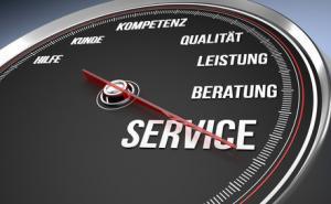 Service und Qualität