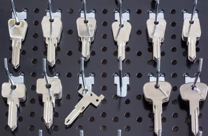 Schlüsselanfertigung vom Schlüsseldienst